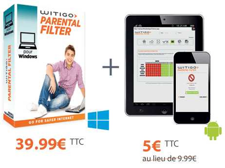 Witigo Parental Filter pour Windows + Android